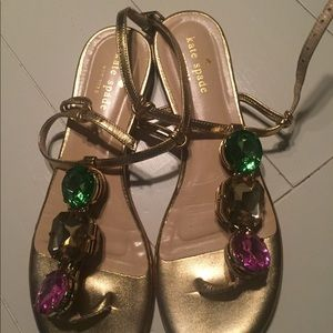 kate spade Shoes - Kate spade jeweled sandals